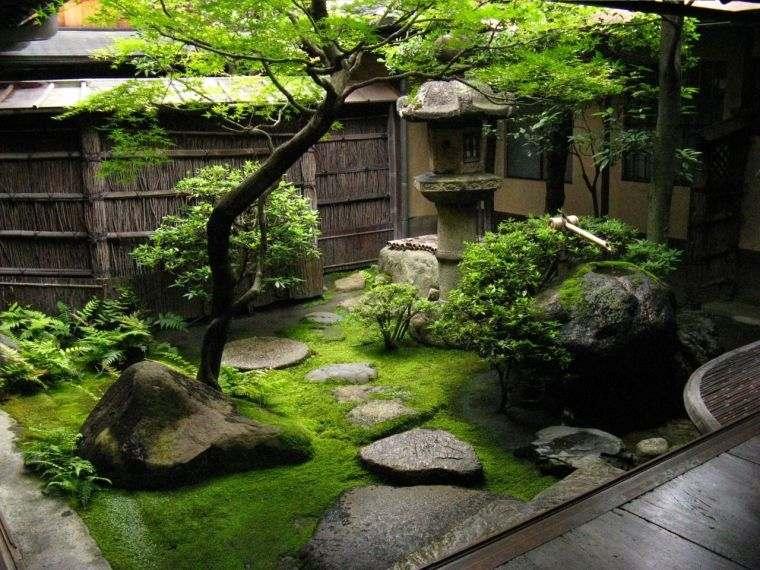 diseño de jardines minimalista