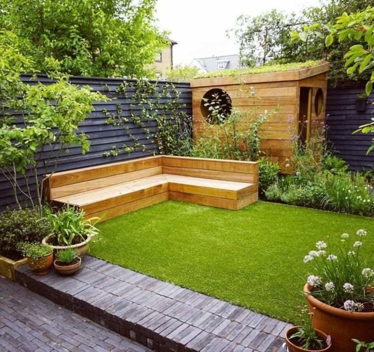 diseño de jardines muebles