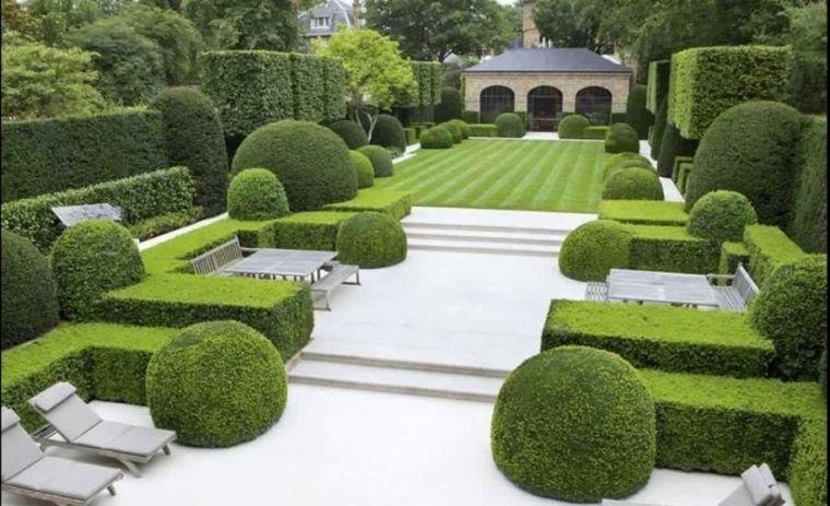 diseño de jardines ordenados