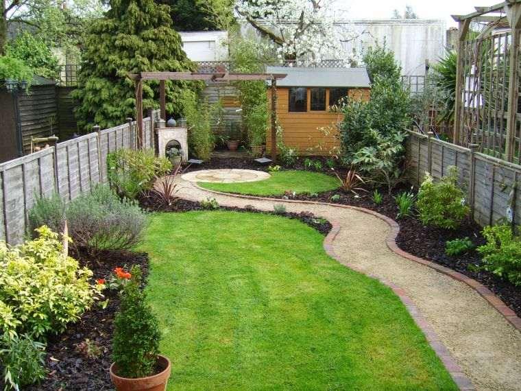 diseño de jardines sencillos