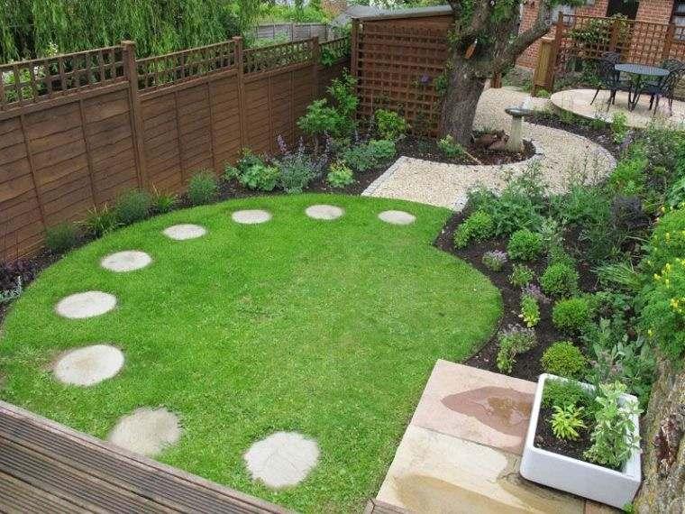diseño de jardines sendero