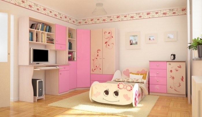 dormitorio-infantil-color-rosa