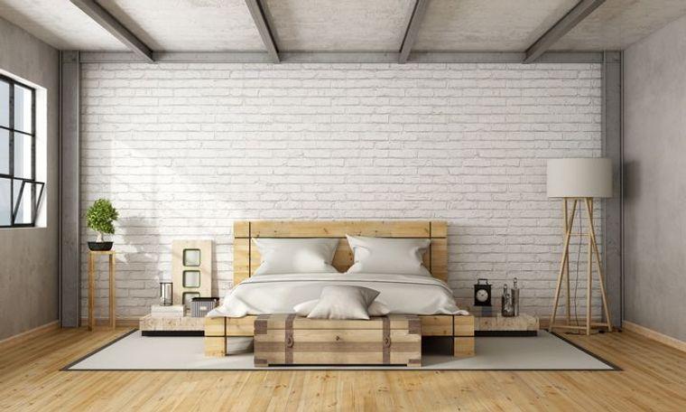 dormitorio minimalista acogedor