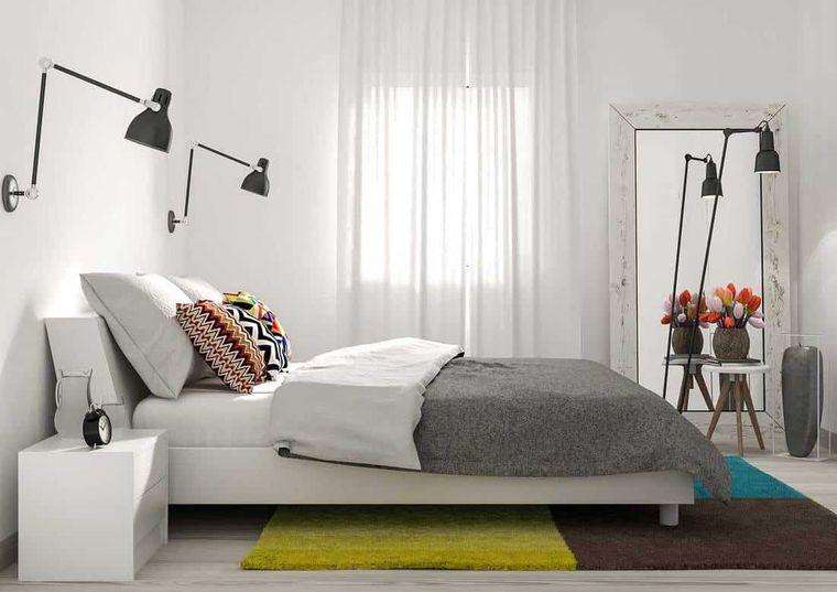 dormitorio minimalista con estilo