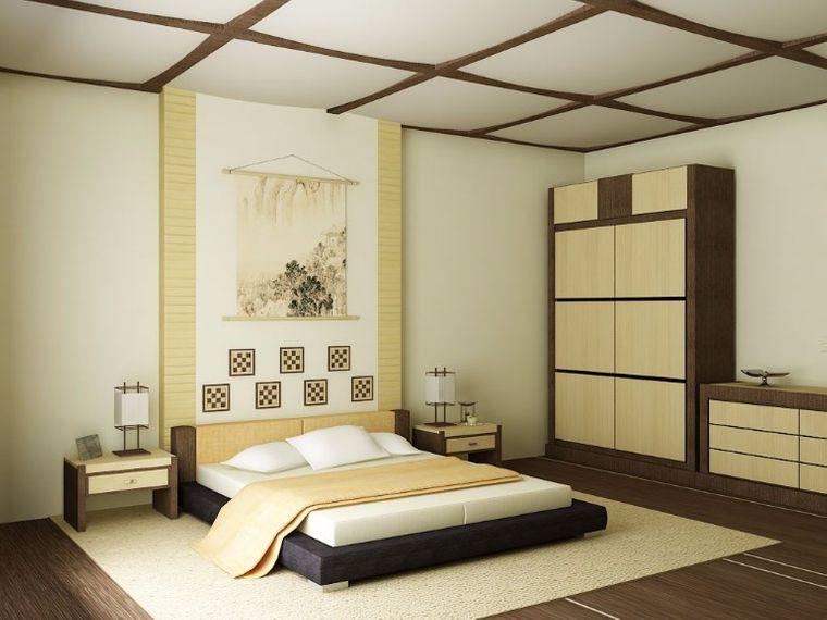 dormitorio minimalista contemporaneo