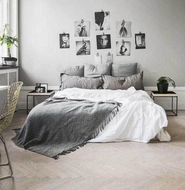 dormitorio minimalista decoraciones