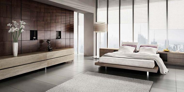 dormitorio minimalista lineas rectas