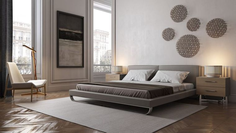 dormitorio minimalista moderno