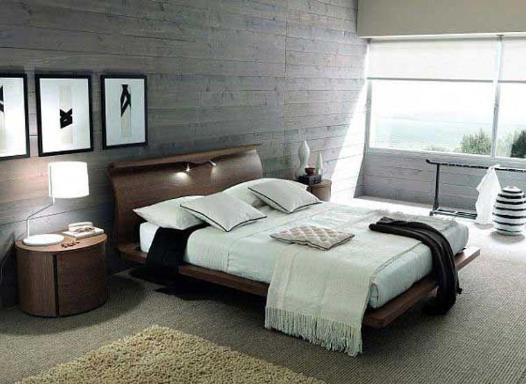 dormitorio minimalista orden
