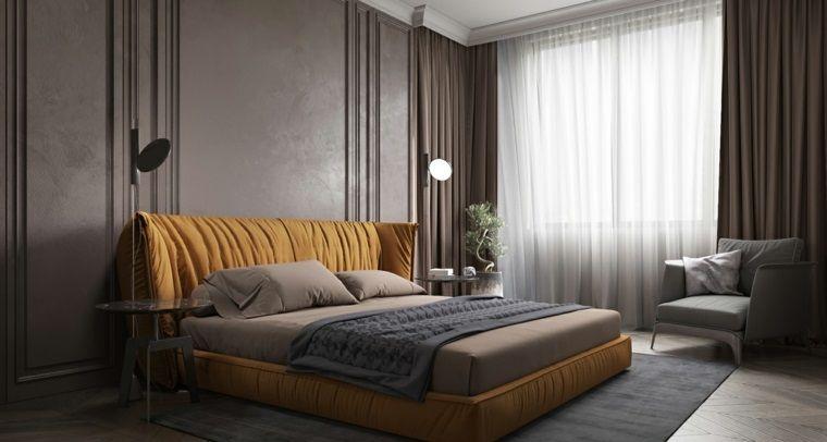 dormitorio minimalista sencillo