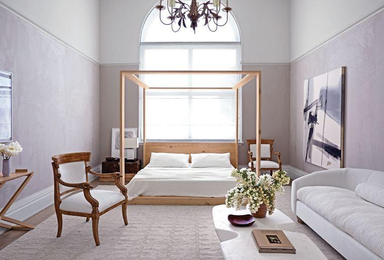 dormitorio minimalista sutil