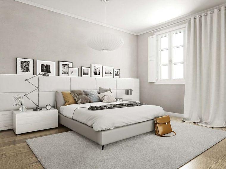 dormitorio minimalista tranquilidad