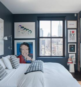 dormitorio-pequeno-estilo-cuadros