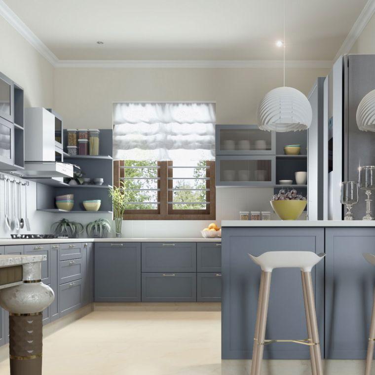 espacios pequeños-estilo-cocina-grande