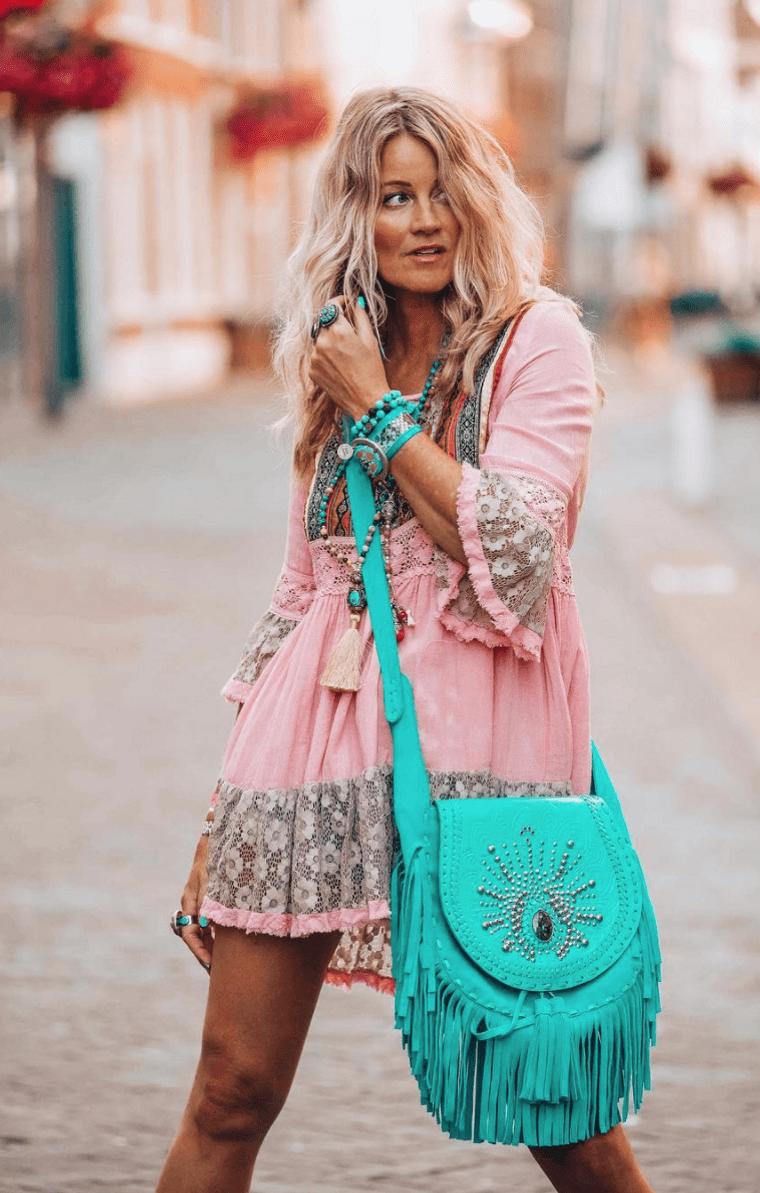 estilo hippie color