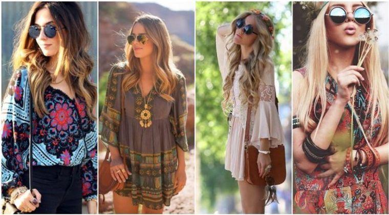 estilo hippie verano