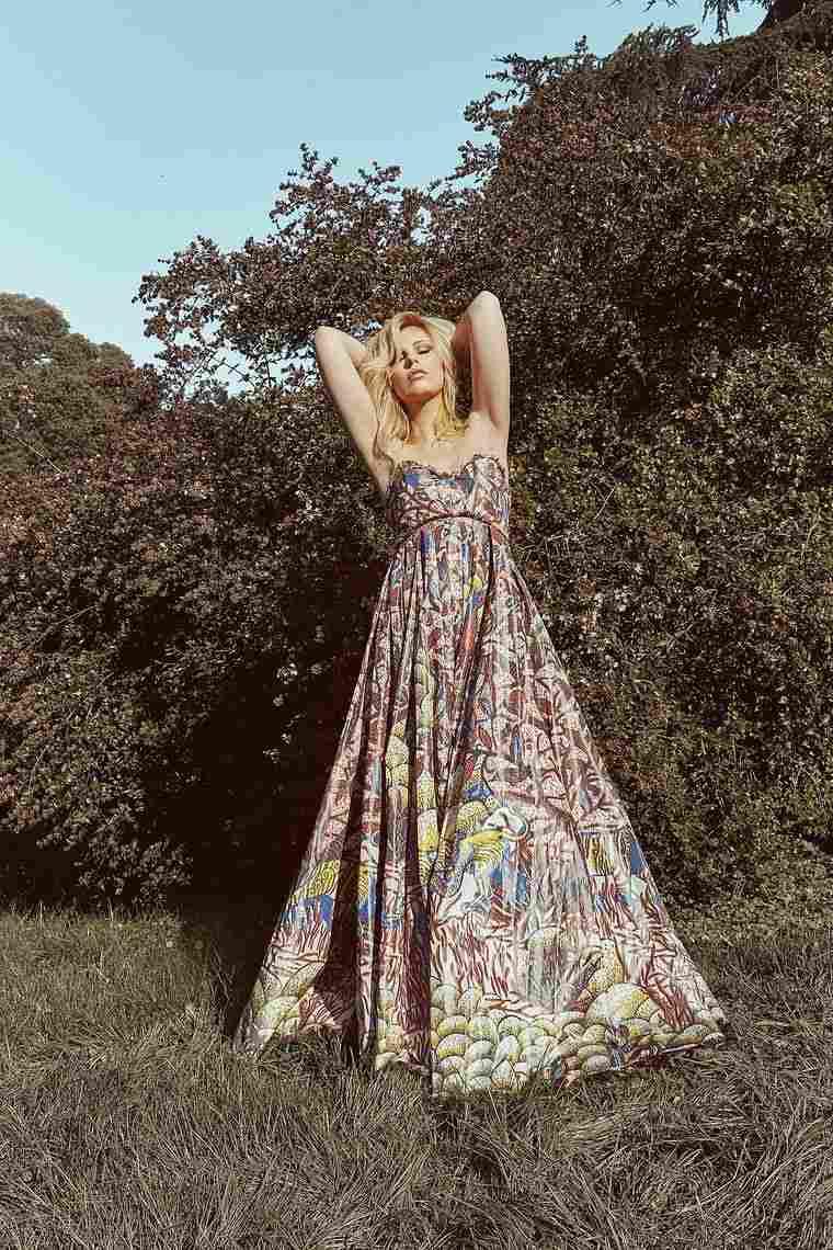 estilo hippie vestido dior cristiano