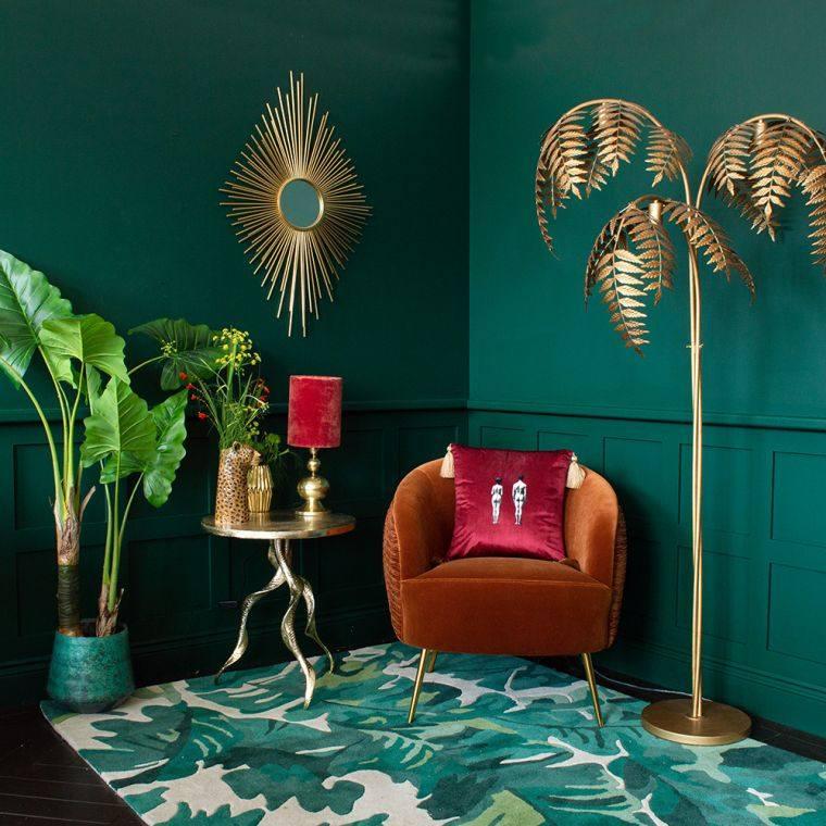hojas-verdes-alfombra-estilo