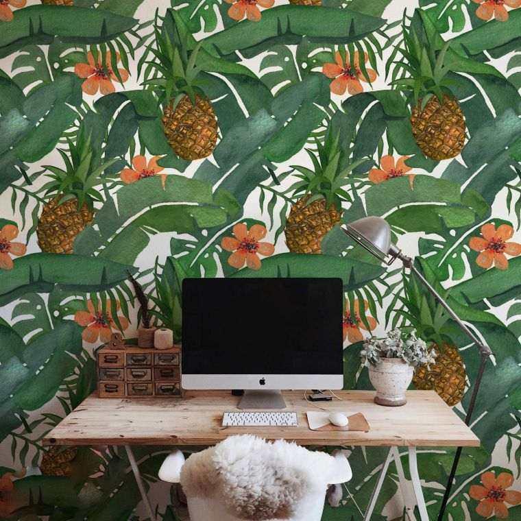 hojas-verdes-oficina-decoracion