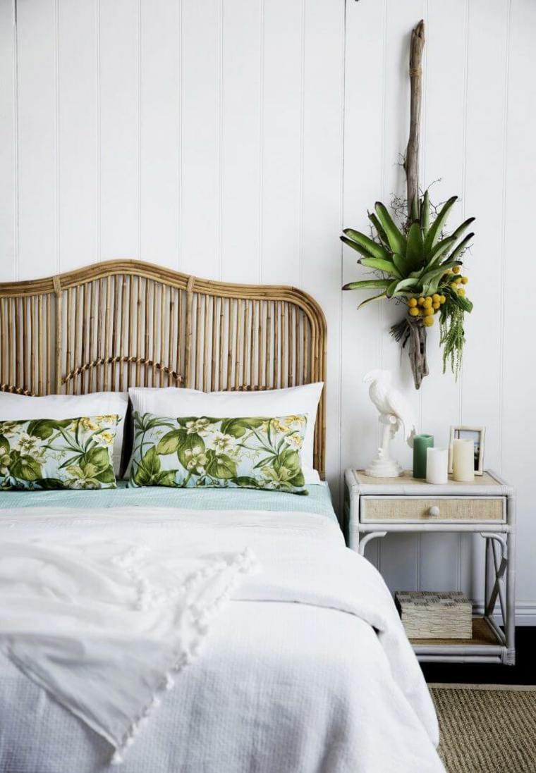 hojas-verdes-tropical-almohadas