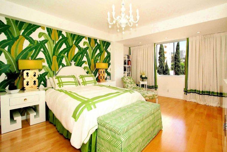 hojas-verdes-tropical-dormitorio-amplio