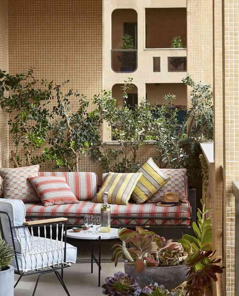 los balcones-decorados-ideas