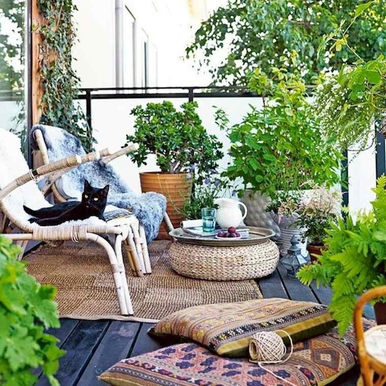los balcones-pequenos-plaantas-ideas