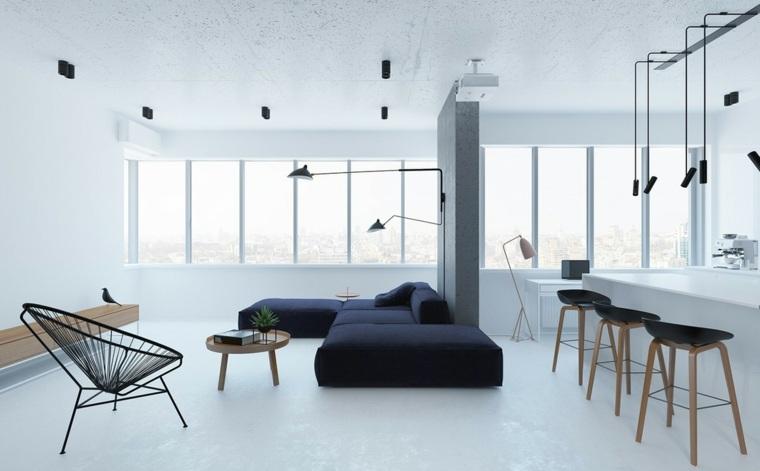 luces-flotantes-salon-minimalista