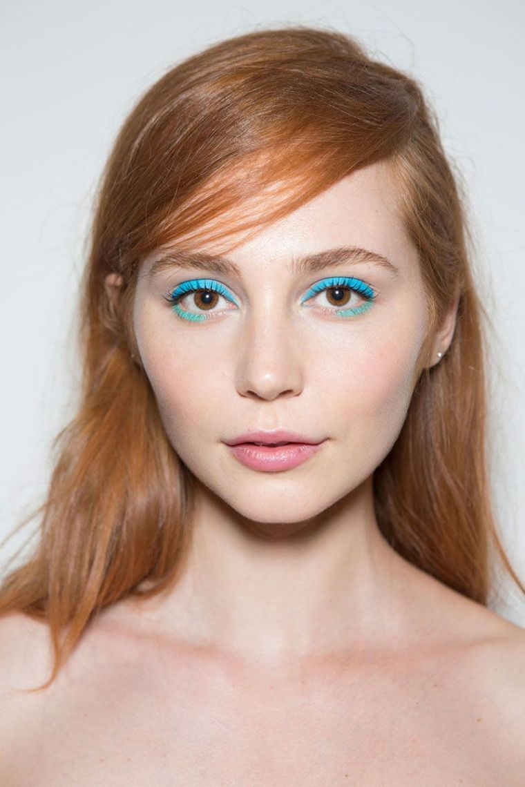 maquillaje de ojos-azul-opciones