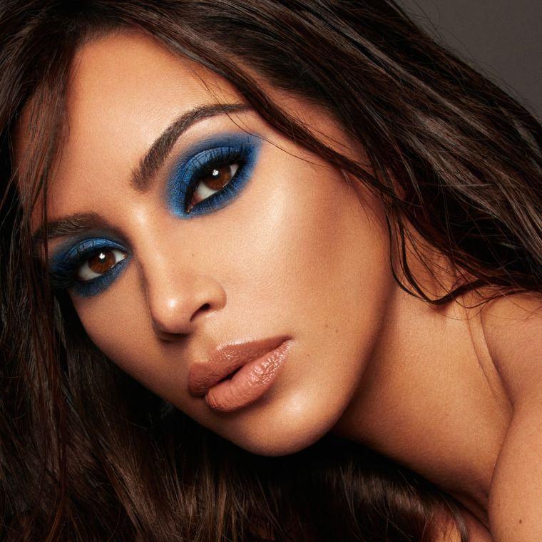 maquillaje de ojos-azul-sensual