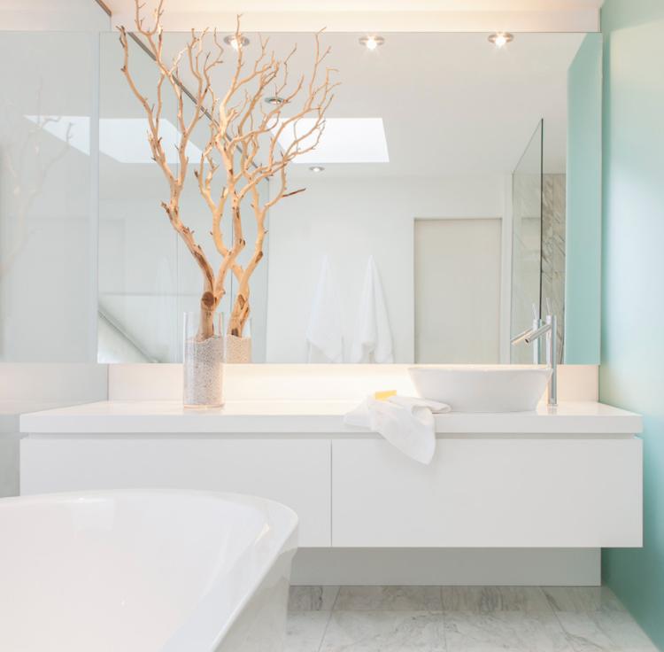 muebles para baño minimalistas-decorar