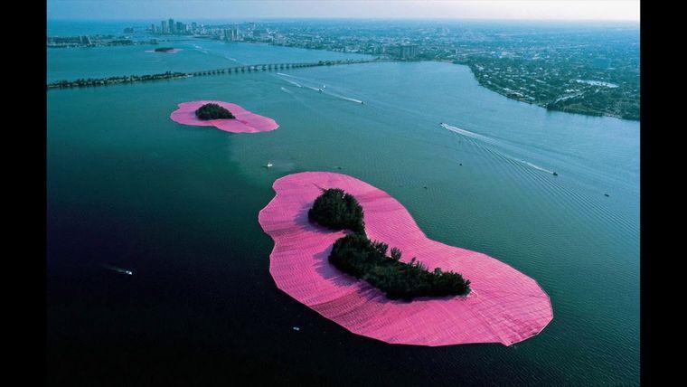 obras de arte islas rodeadas