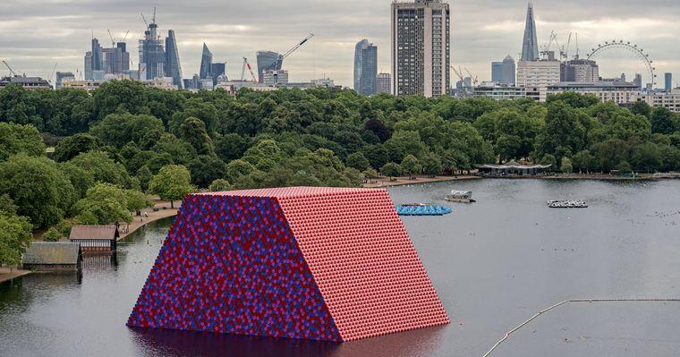 obras de arte the london mastaba