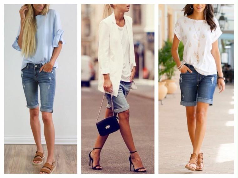 pantalones anchos-cortos-bermudas-chicas