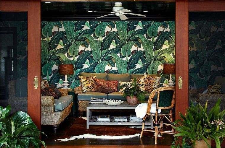 patio-moderno-pared-hojasa