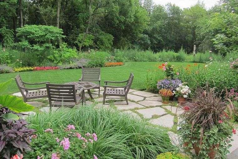 pavimento jardin diseño