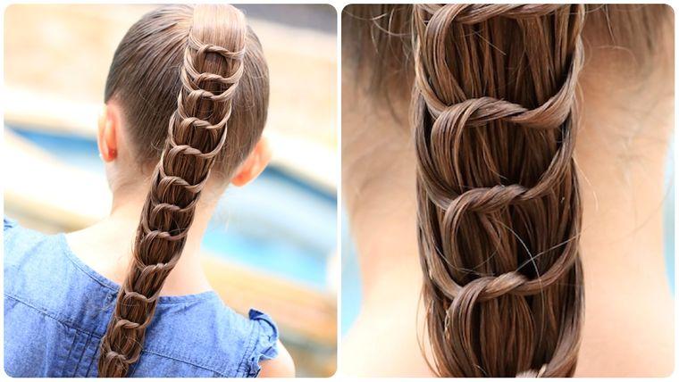 peinados con cola de caballo original
