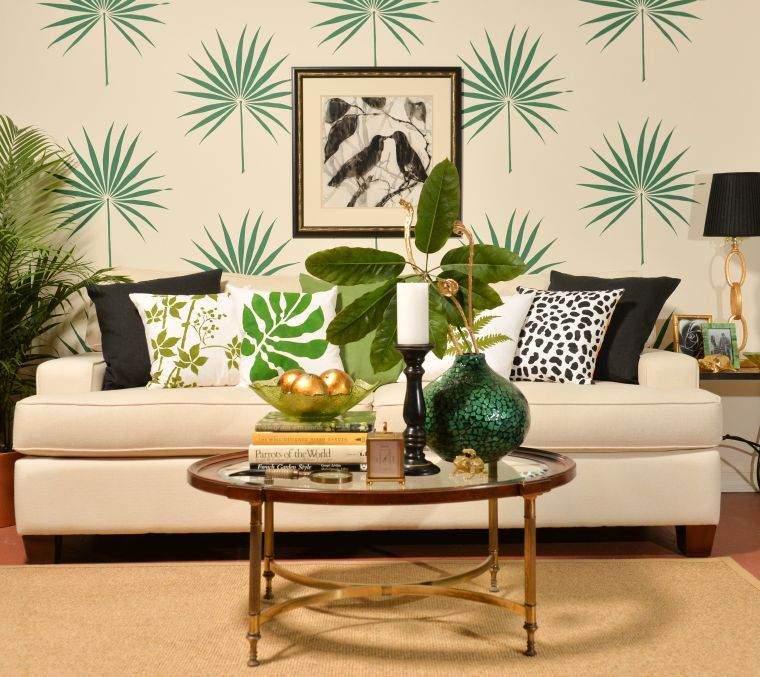 plantas-tropicales-decorar-pared