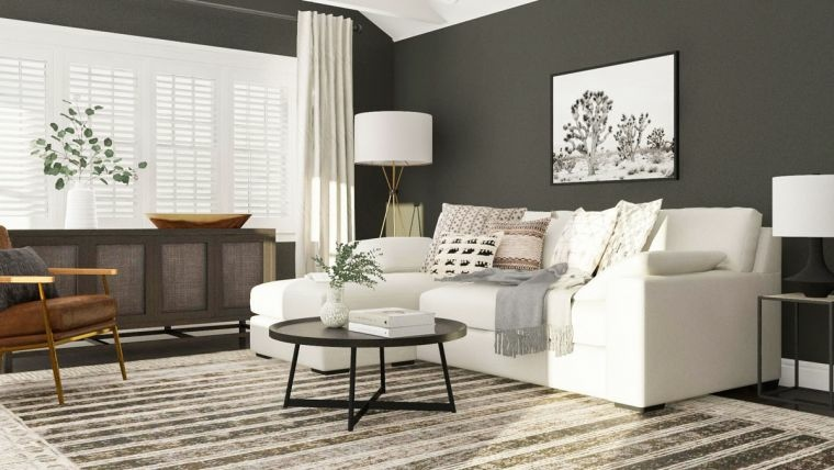 salon-minimalista-diseno-paredes-gris