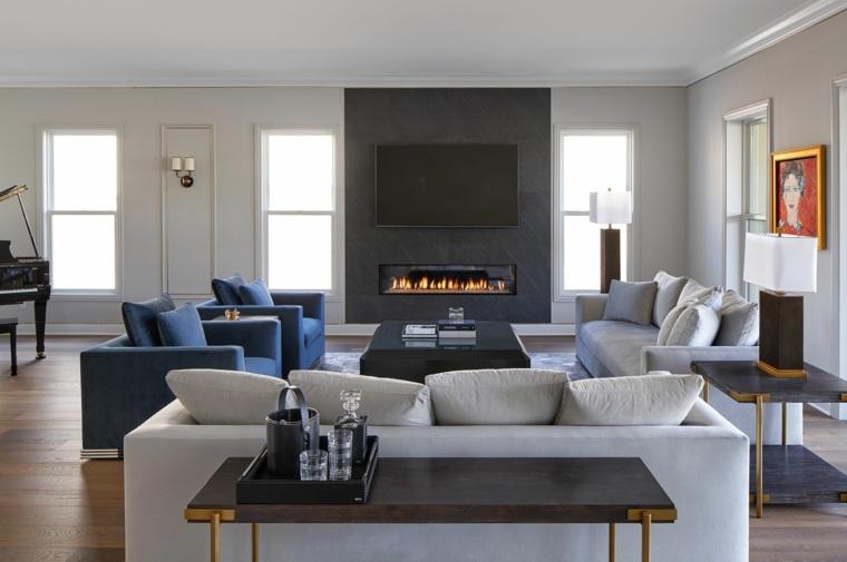 salones-modernos-minimalistas-chimenea-estilo