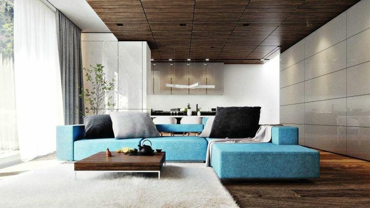 salones-modernos-minimalistas-sofa-color