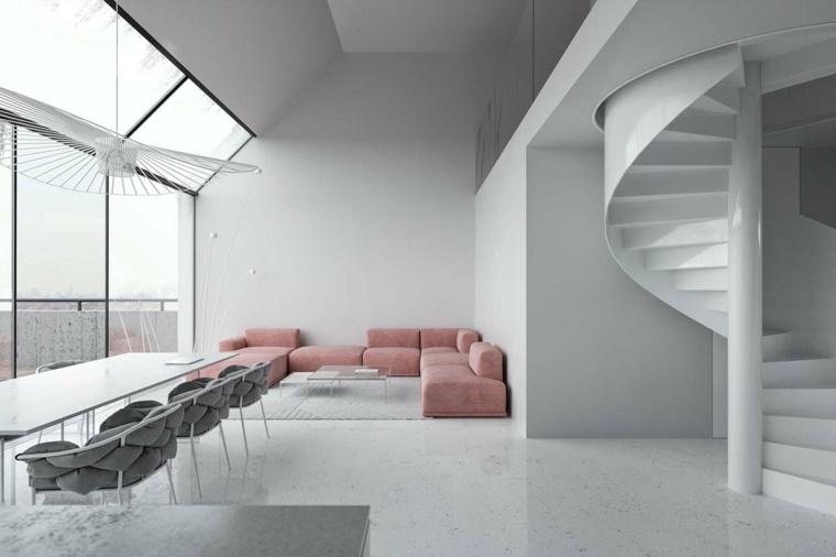 sofa-color-rosa-claro-diseno-minimalista