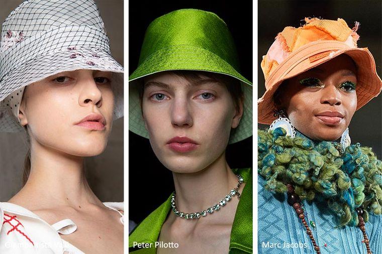 sombreros de verano bucket