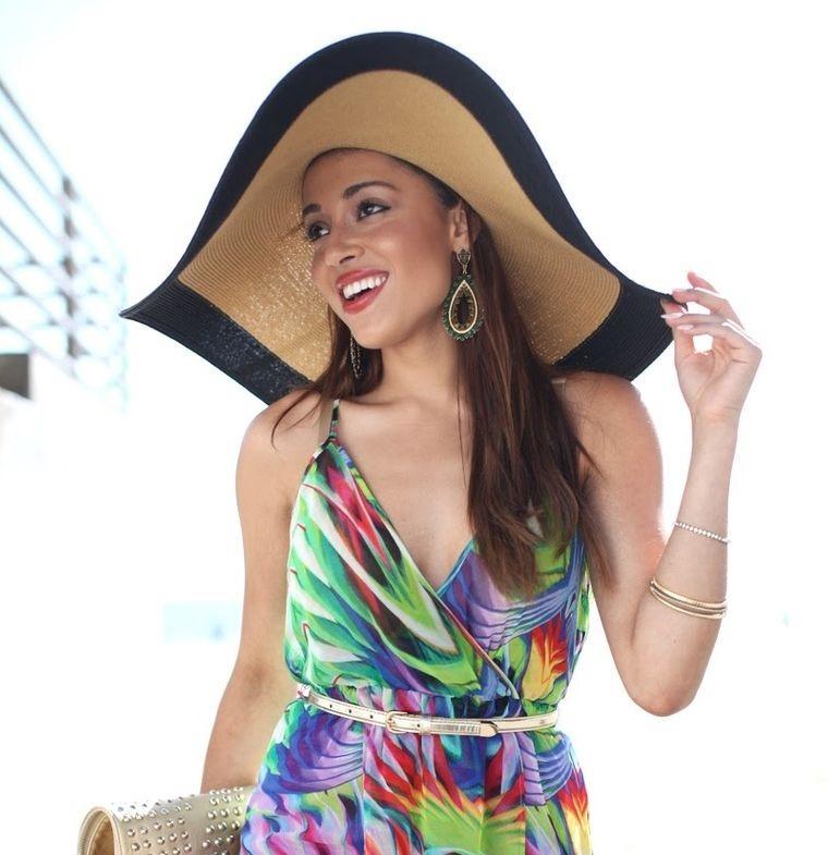 sombreros de verano casual
