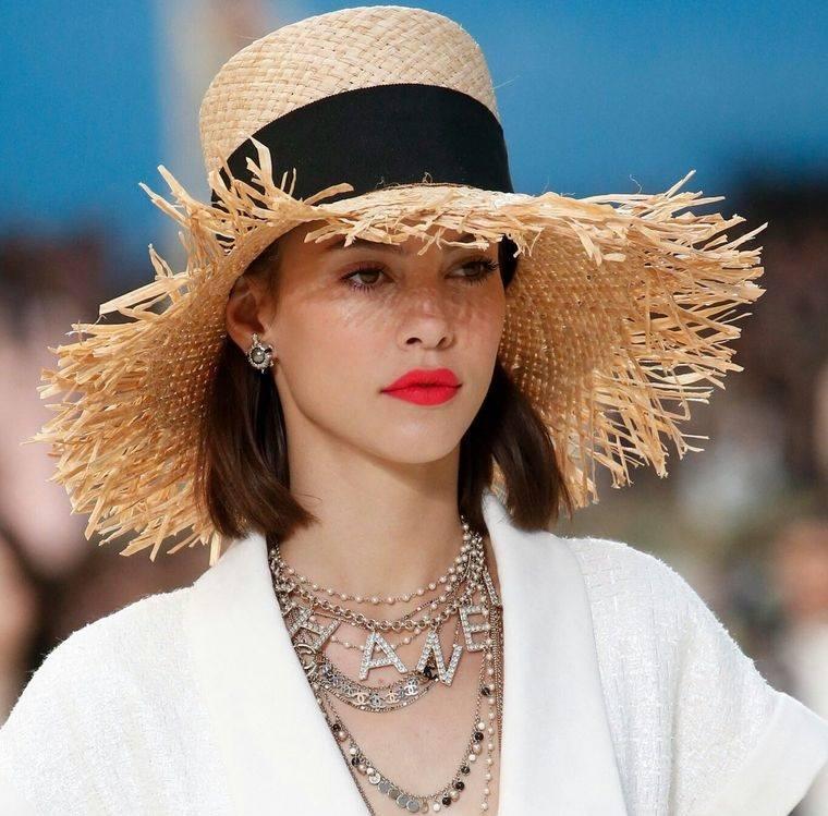 sombreros de verano complemento