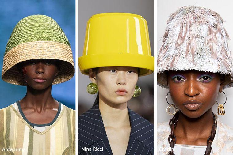 sombreros de verano cubos