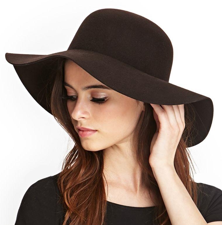 sombreros de verano estilo floppy