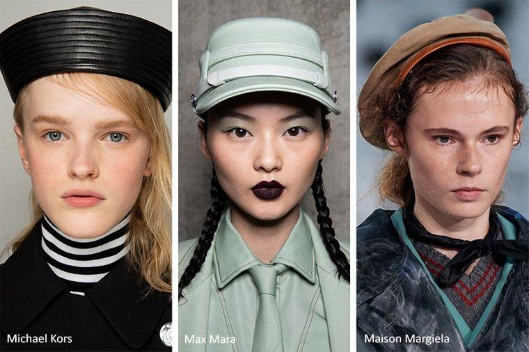 sombreros de verano estilo militar