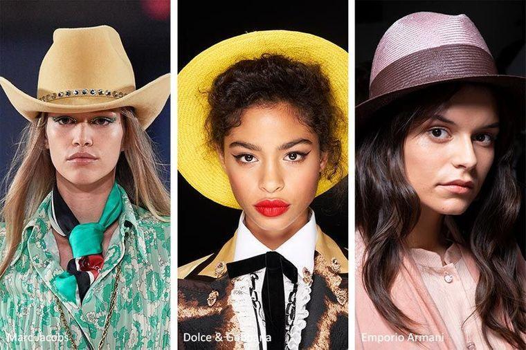 sombreros de verano estilos