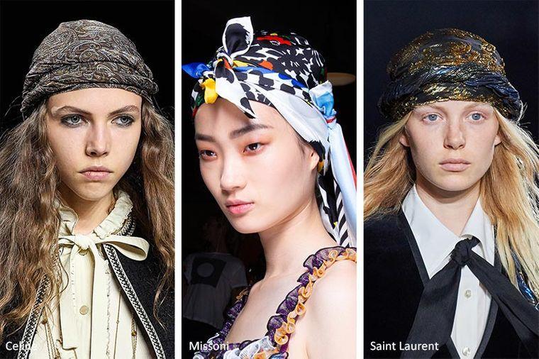sombreros de verano pañuelos